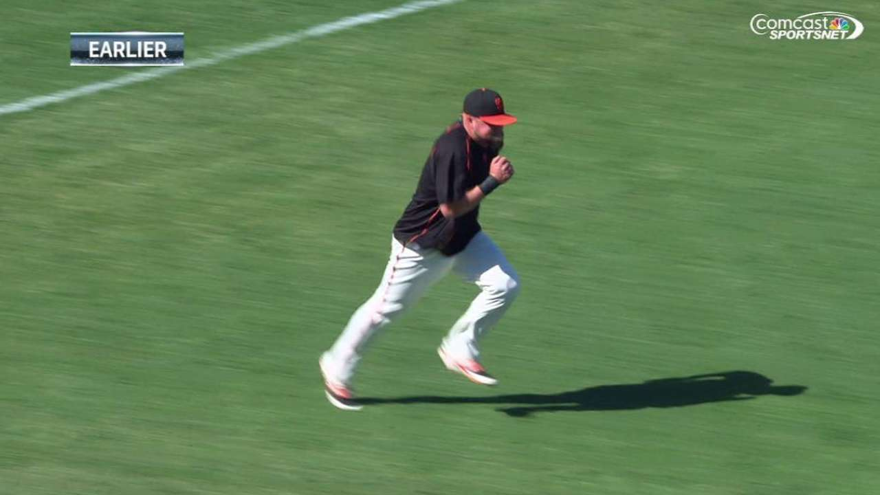 McGehee sidelined for fifth straight game with strained knee