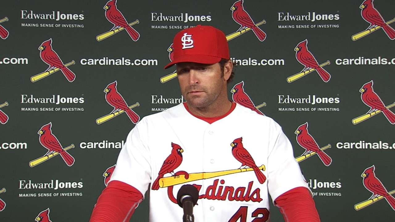 Matheny concerned with bullpen's early-season workload