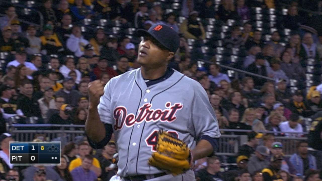 Simon copies Tigers' strong pitching blueprint