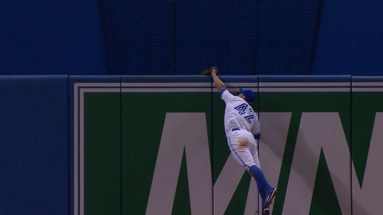 Pillar reflects on great catch