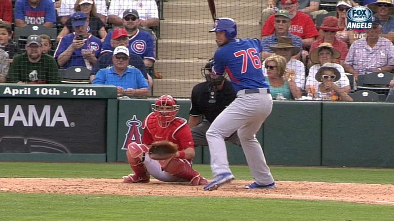 The future is now: Bryant makes big league debut