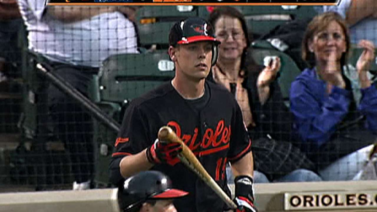 Wieters' night at the plate