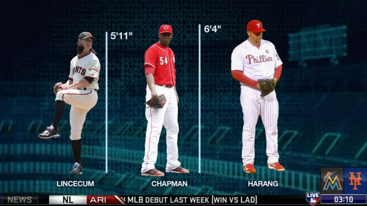 Statcast delves deep into pitchers' performance