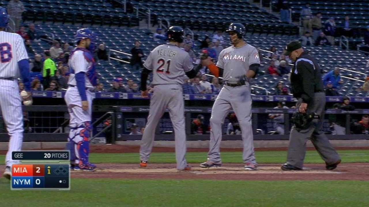Stanton's two-run homer