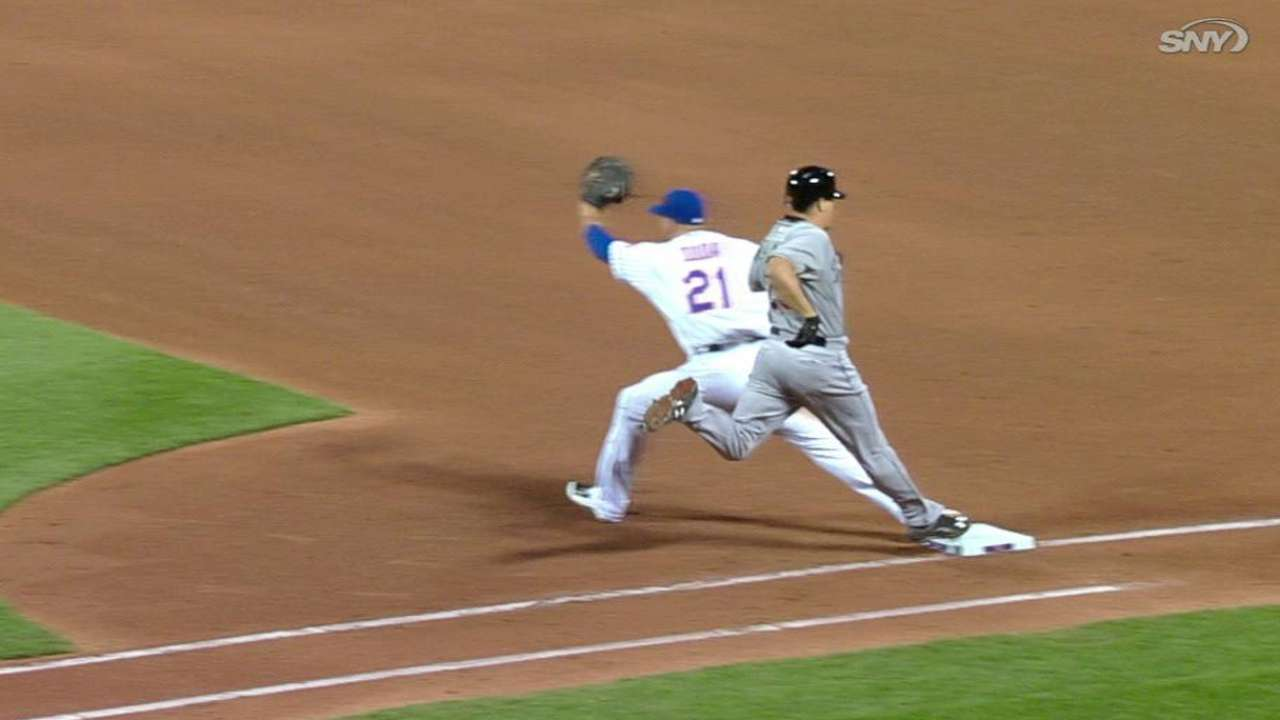 Safe call overturned in 5th