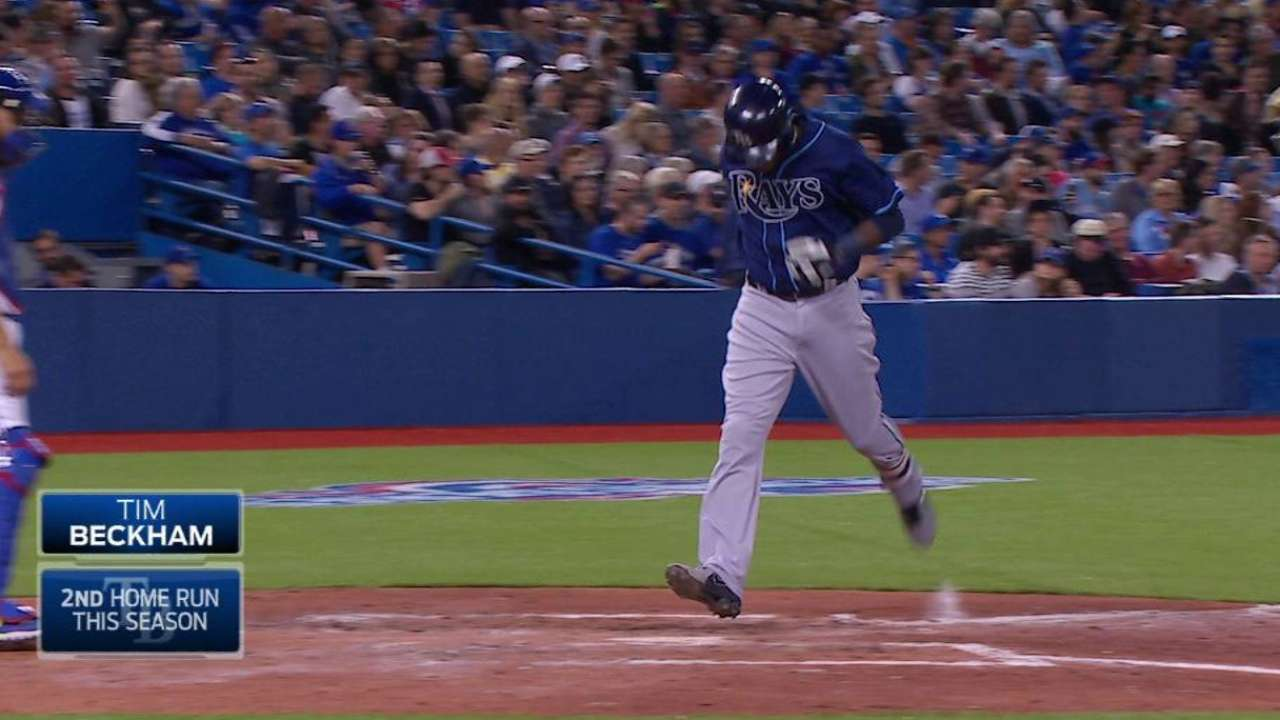 Beckham's homer can't be robbed this time
