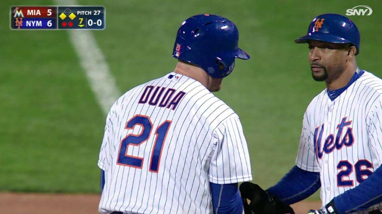 Mets beat Marlins for 5th straight victory