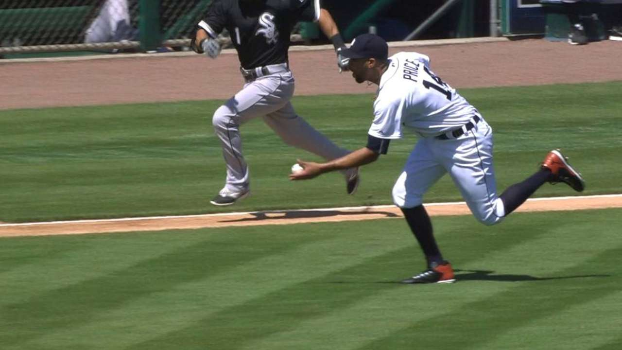 Price's fine barehanded play