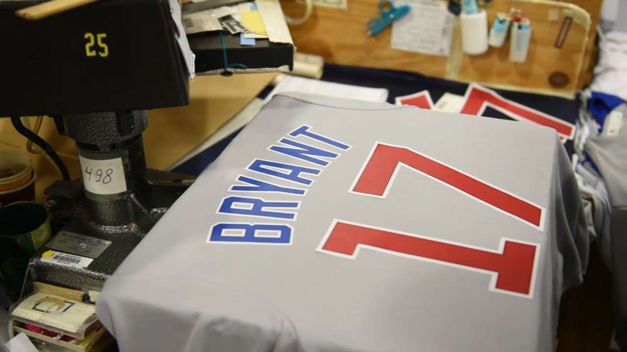 Making Bryant's No. 17 jersey