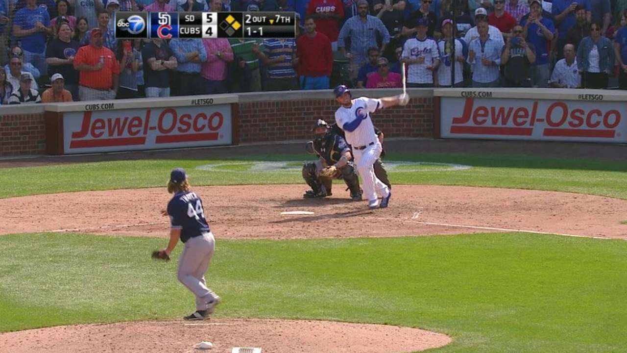 Bryant grounds into forceout