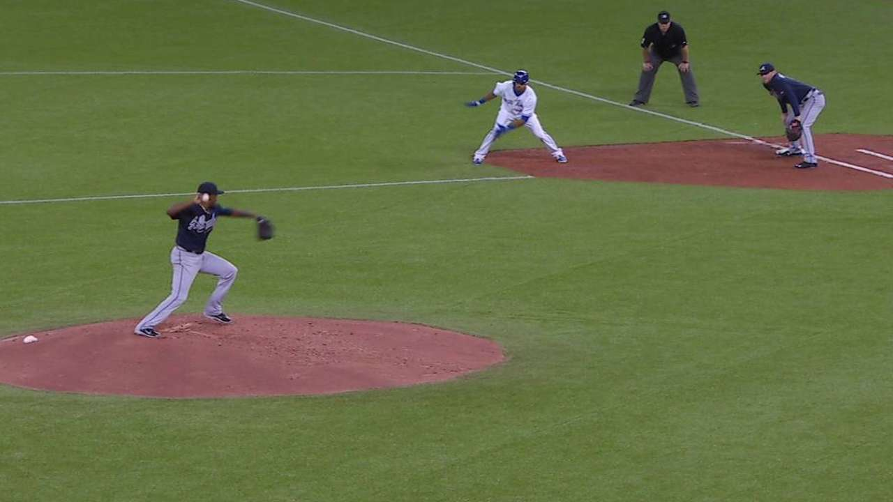 Unable to locate fastball, Teheran allows four HRs