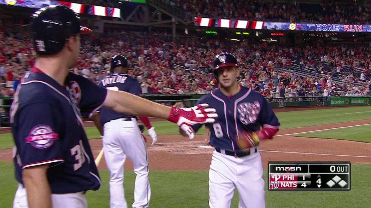 Espinosa's solo homer