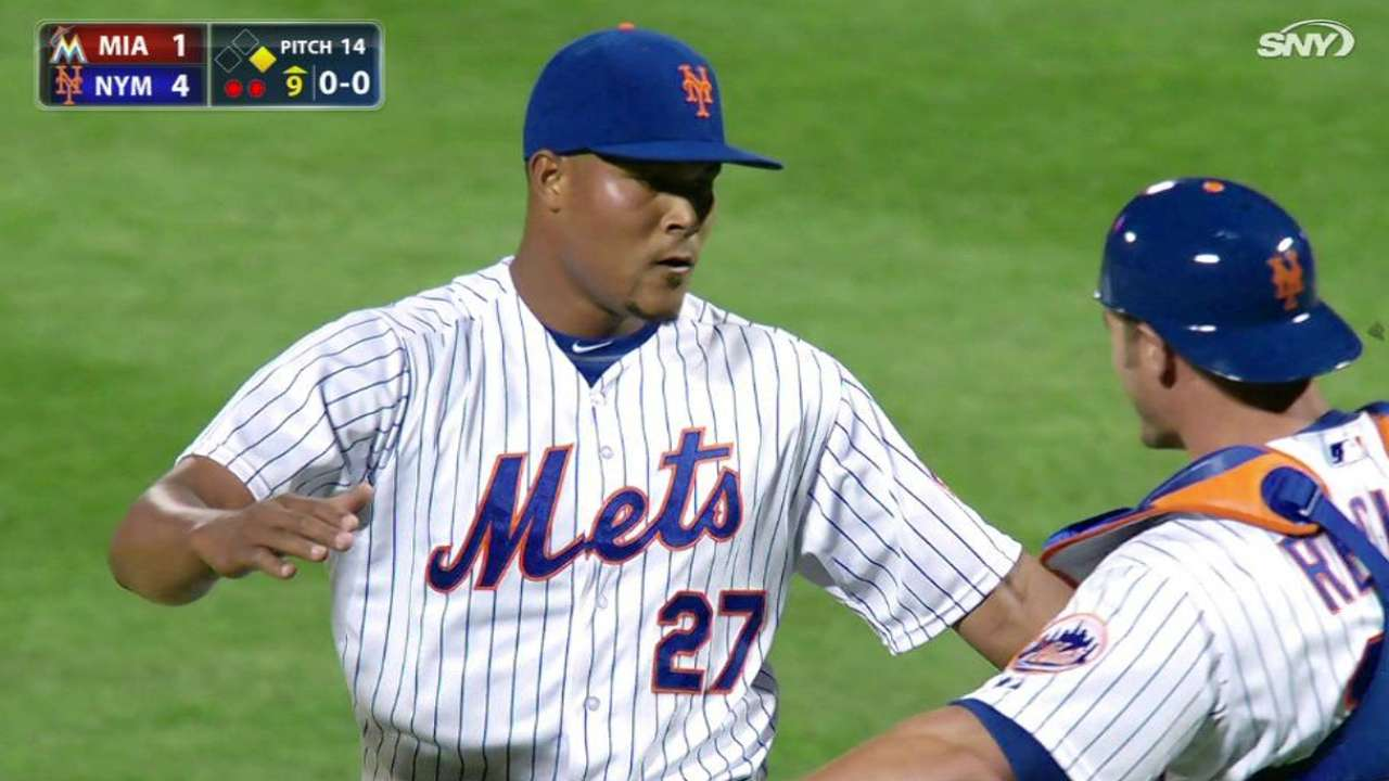 Collins sticking with Familia in closer's role