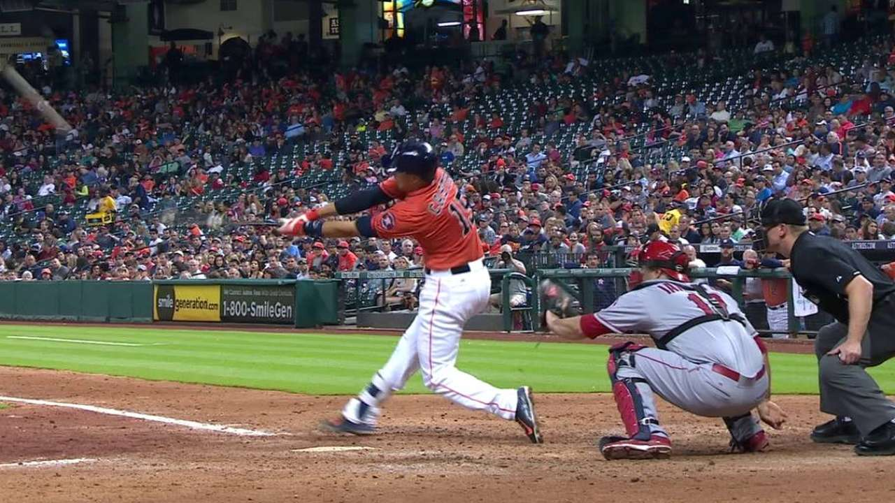 Astros show resilience, but fall to Angels
