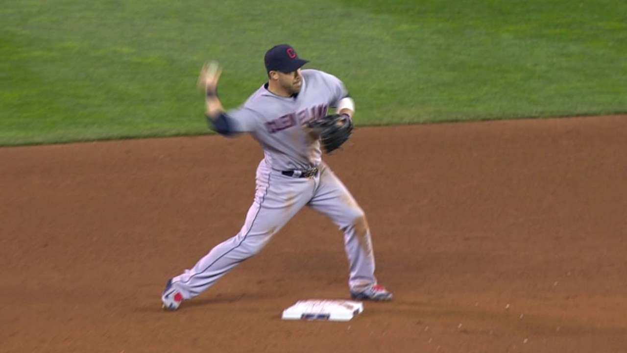 Kluber induces double play