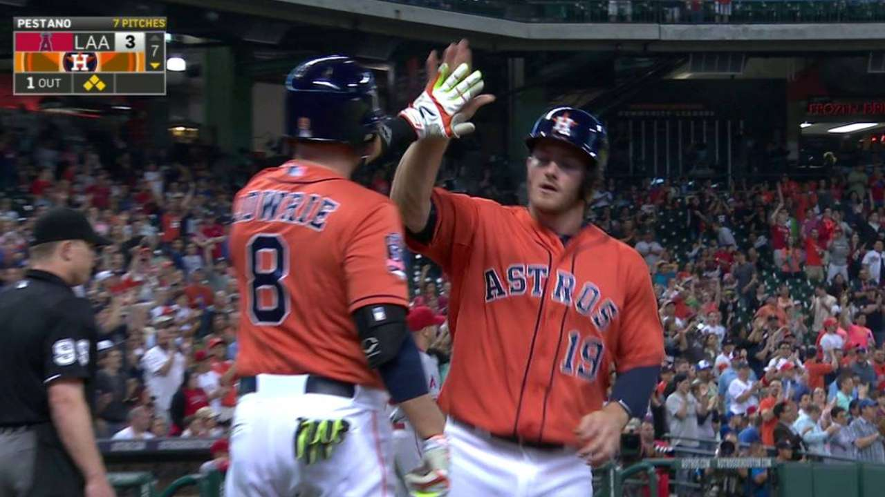 Astros look back on missed chances vs. Angels
