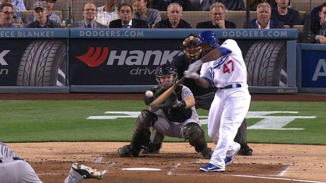 Kendrick's two-run home run