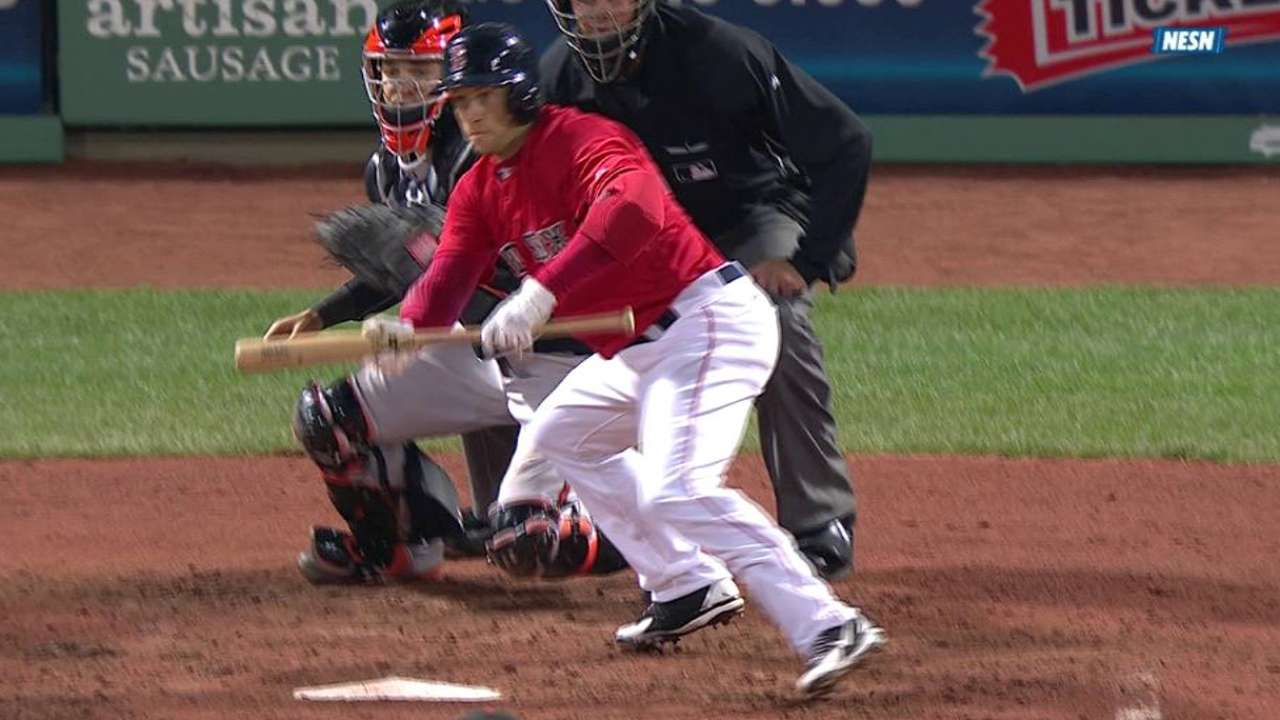 Farrell calling for bunt more than expected