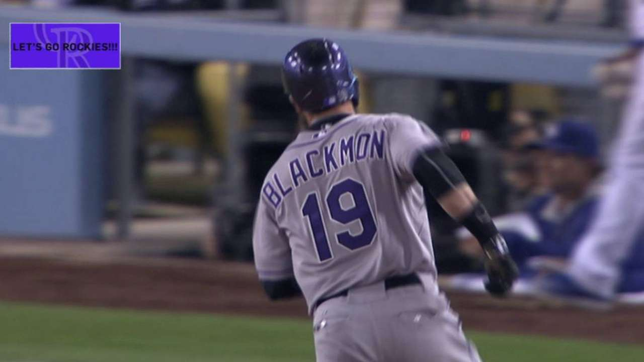 Blackmon's two-run jack