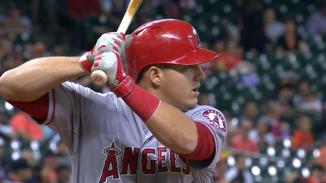 Trout enters MLB record books
