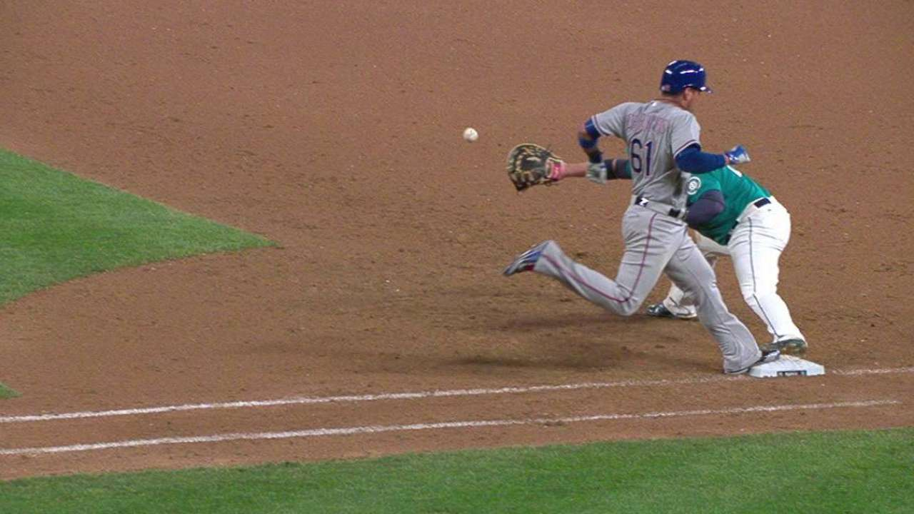 Out call overturned in 9th