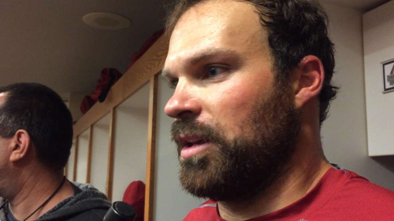 Collmenter on shutout vs. Giants