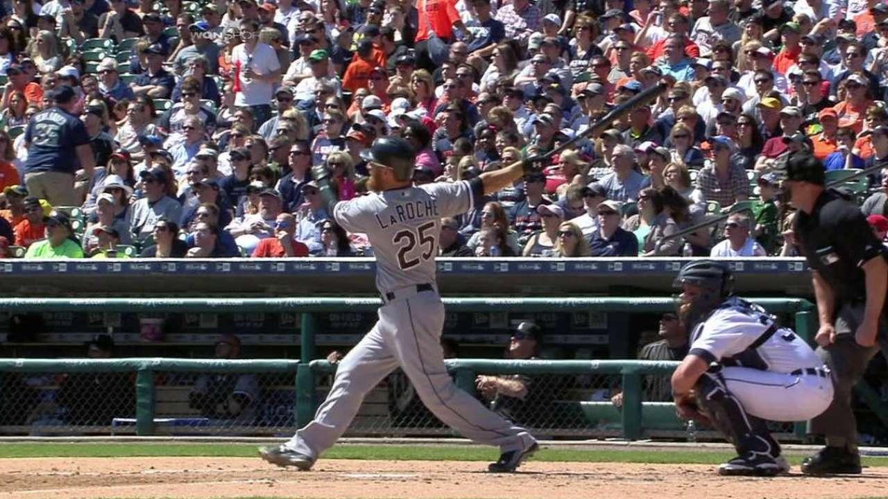 LaRoche's three-run homer