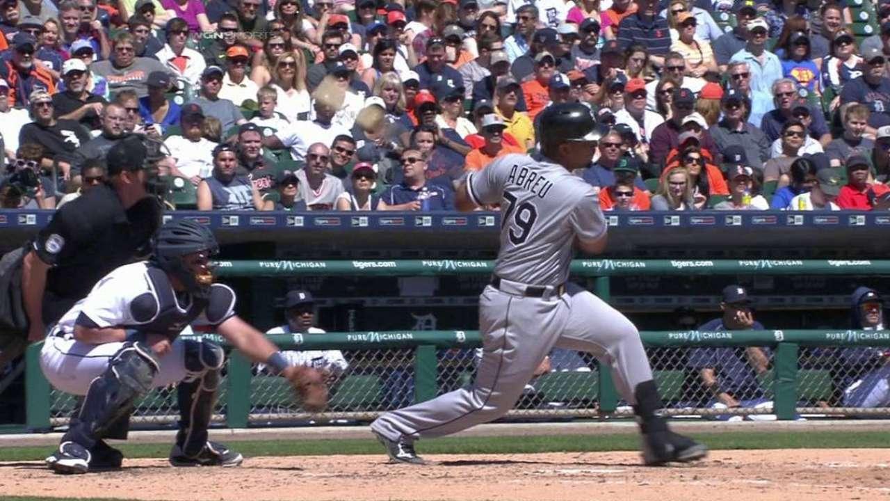 Abreu's slam highlights seven-run frame to lift White Sox