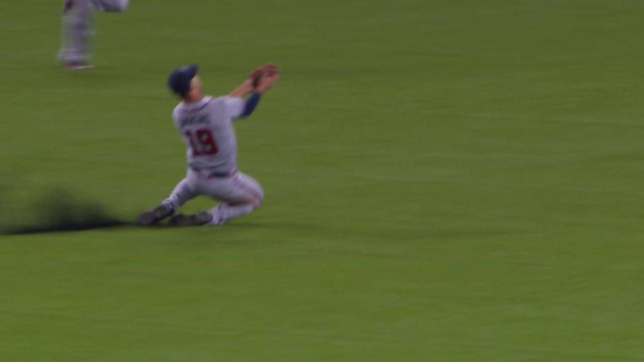 Simmons' sliding catch