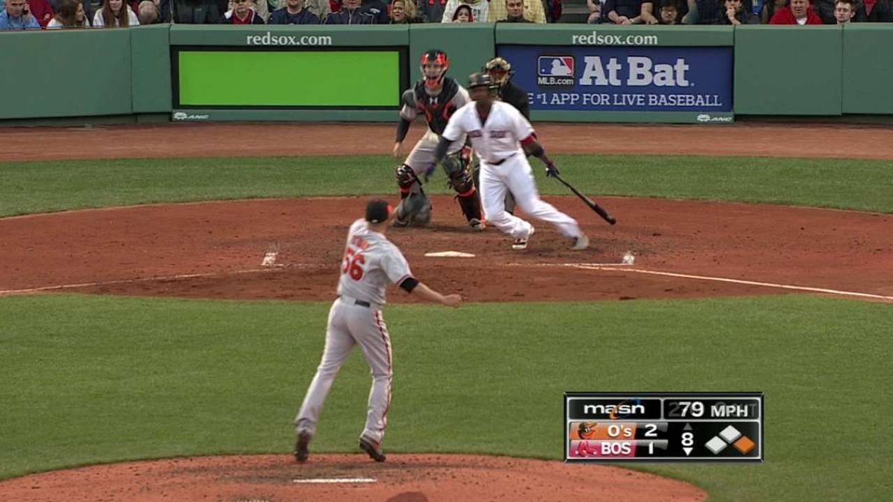 O'Day starts 1-6-3 double play