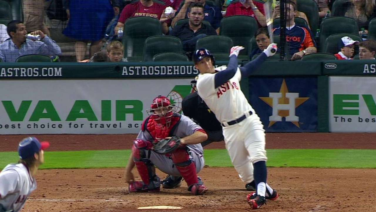 Springer, Grossman provide long-ball support for Astros