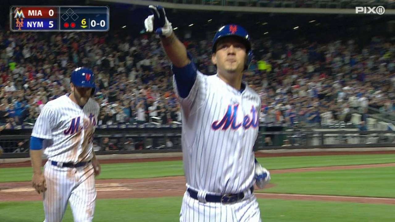 Mets defeat Marlins for seventh straight win