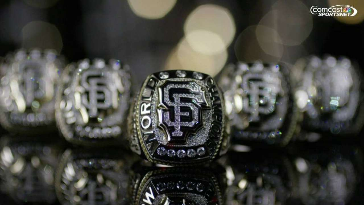 Making of the Giants' rings