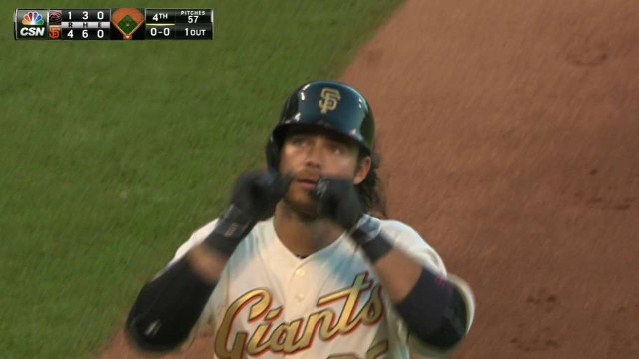 Crawford's homer helps Giants reverse course
