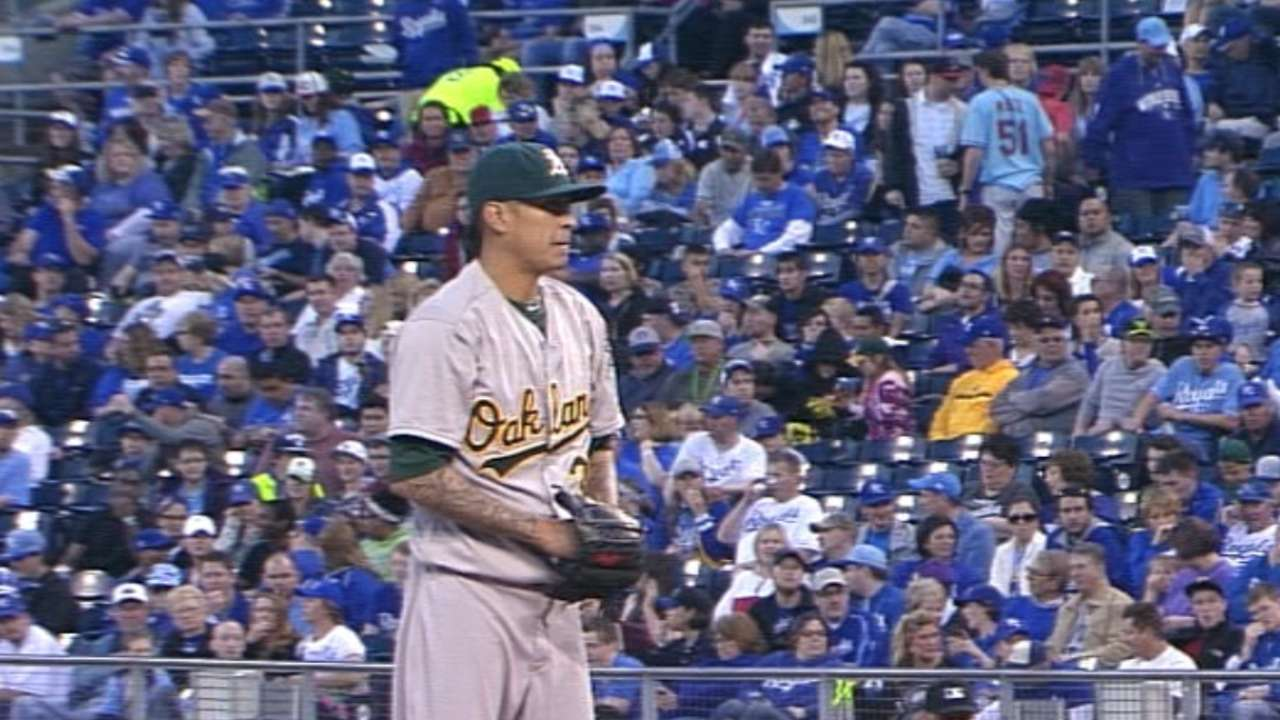 One of A's Jesses to start on Thursday in Anaheim