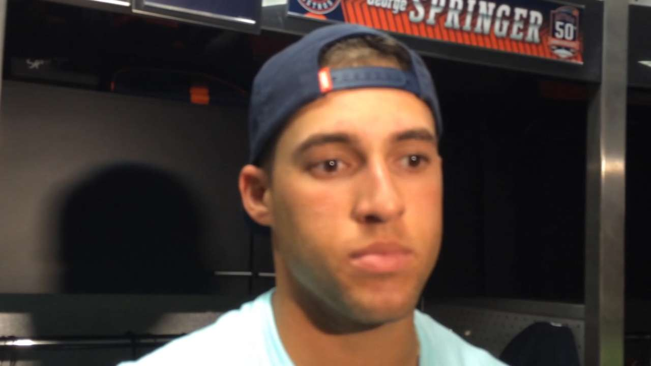 Springer, Keuchel on 4-0 win