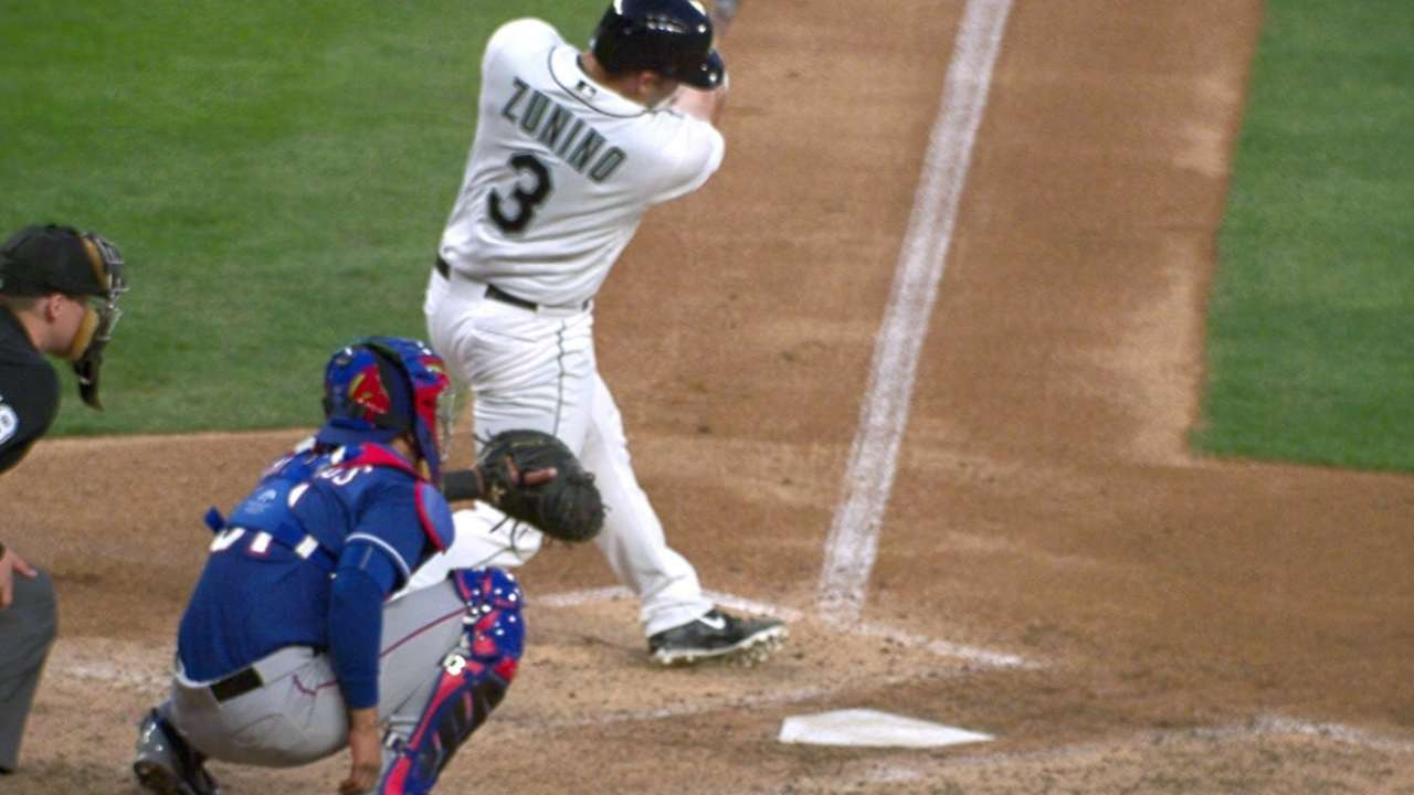 One and done: Zunino's timely blast sweet relief for Seattle
