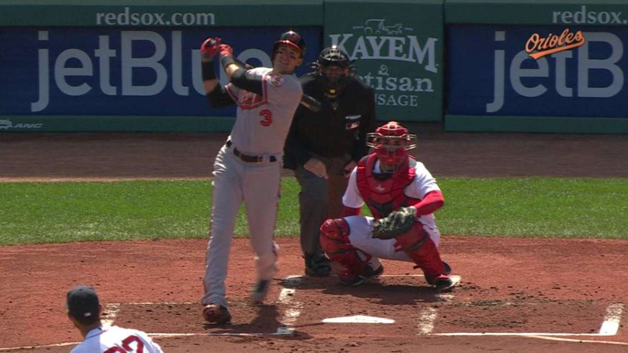 Flaherty's solo homer