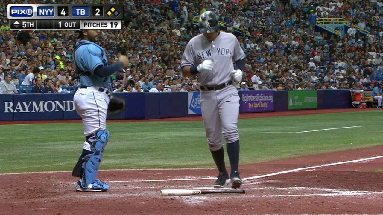 Pineda helps Yankees finish sweep of Rays