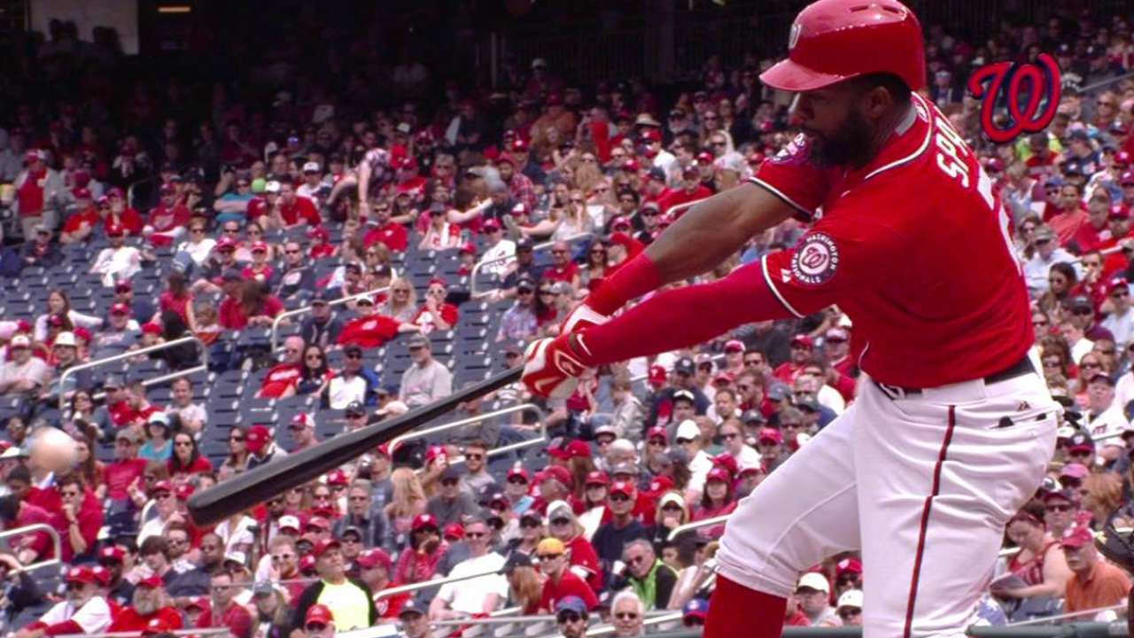 Span motors home from first in DL return; Taylor optioned