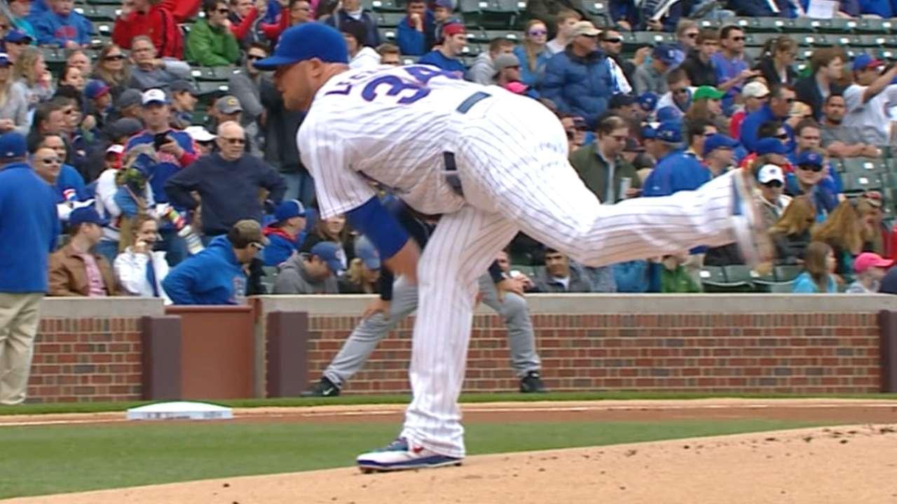 Lester goes five-plus vs. Padres