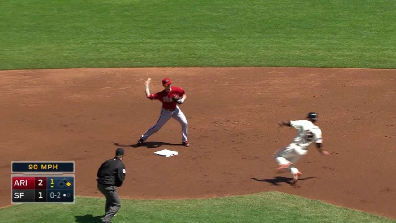 Hill starts double play