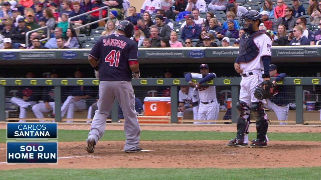 Indians fighting through slump up and down lineup