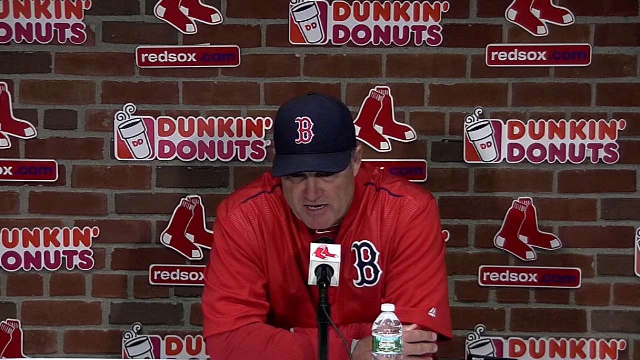 Farrell looking for more length from starters