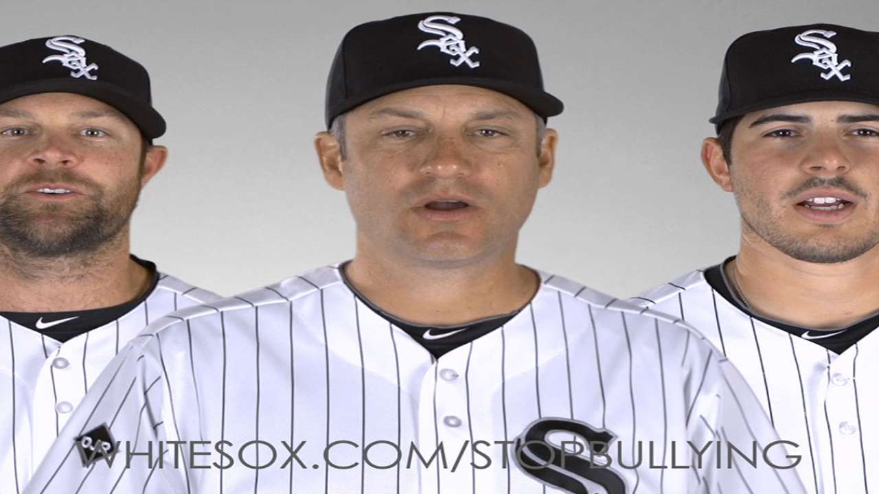 White Sox strike out bullying