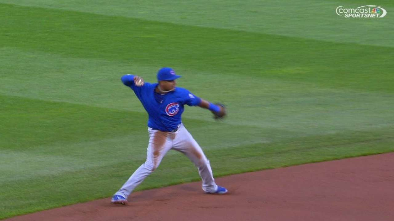 Confident Starlin playing aggressive shortstop