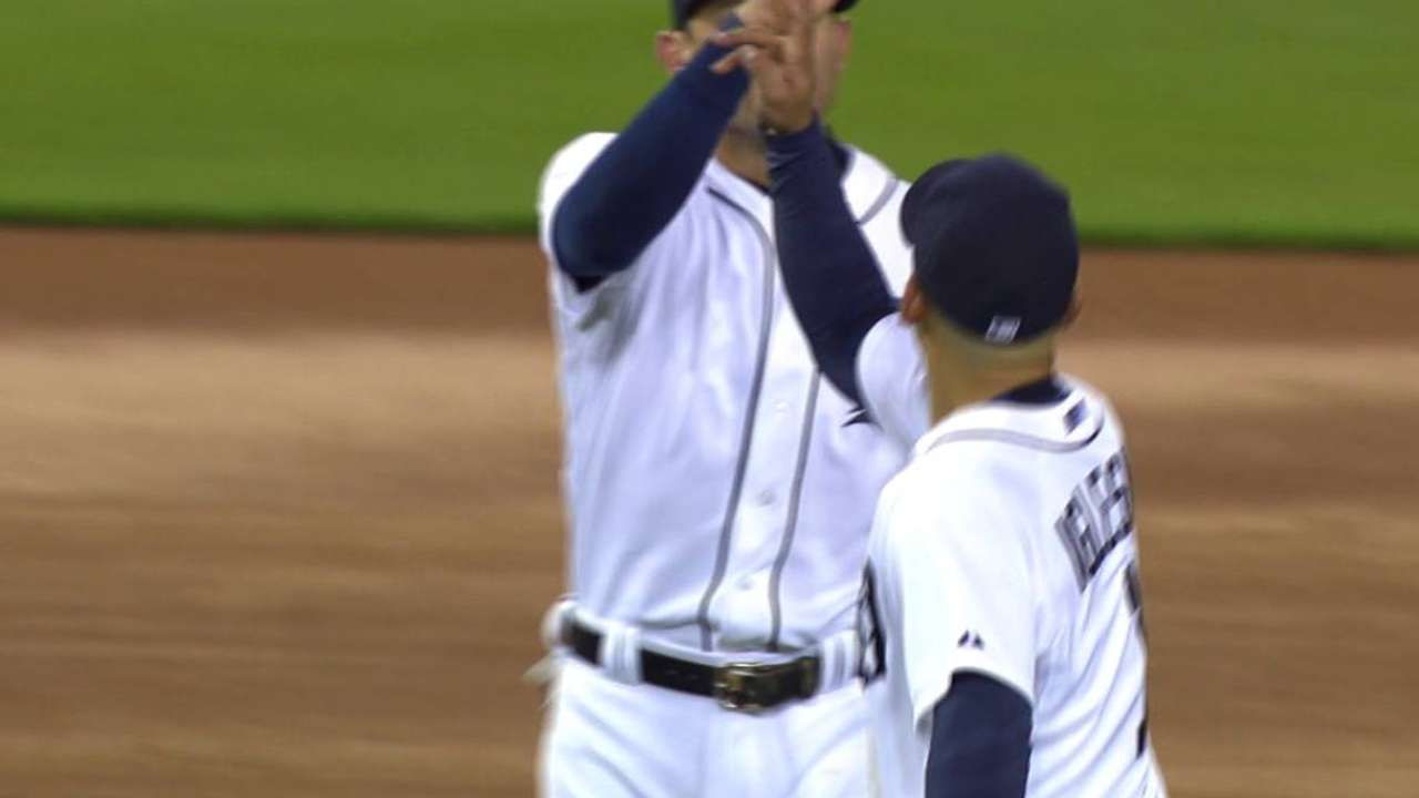 Chamberlain induces double play