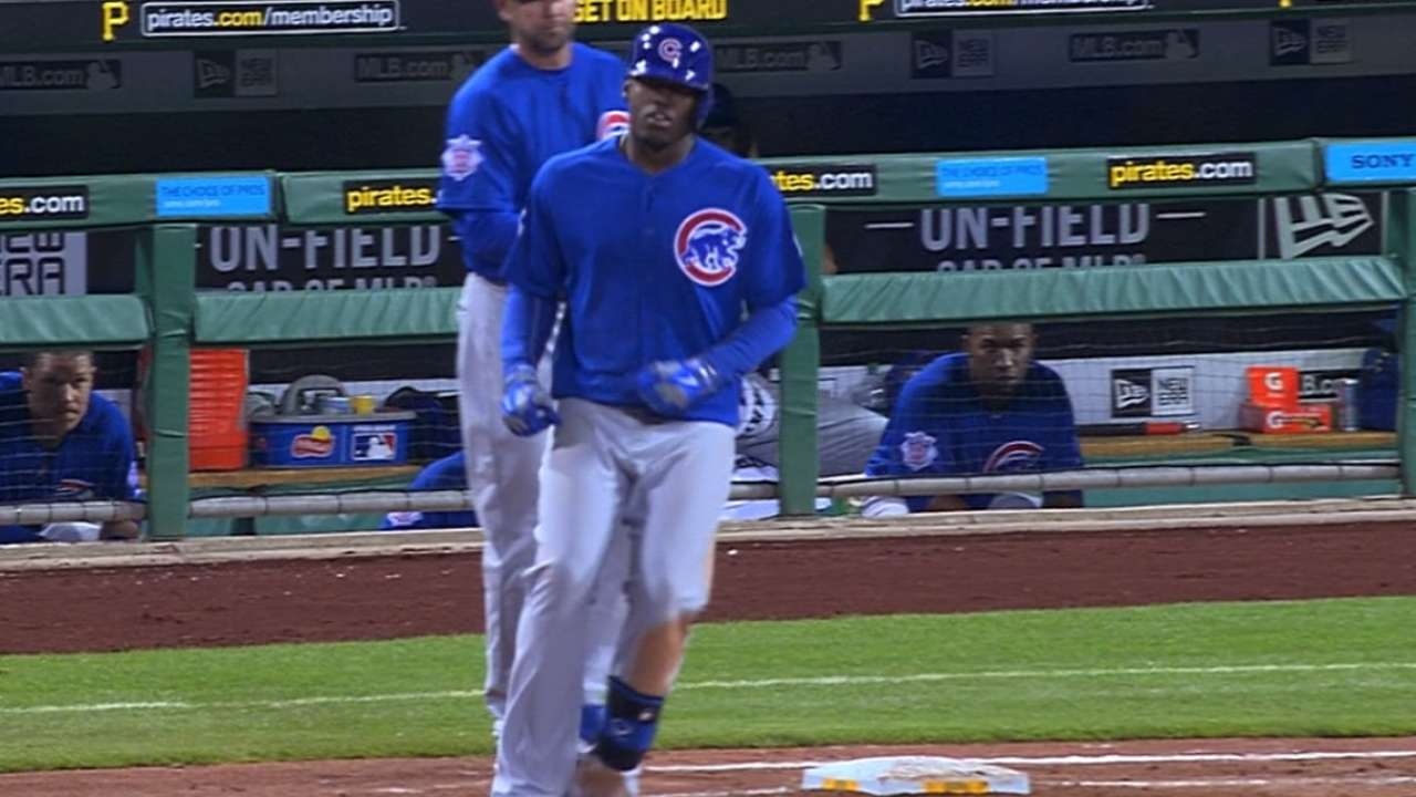 Soler's first four-hit game
