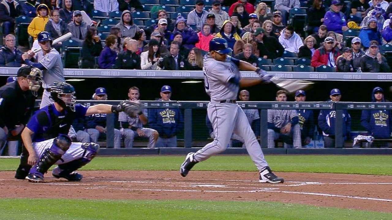 Despaigne's first MLB hit