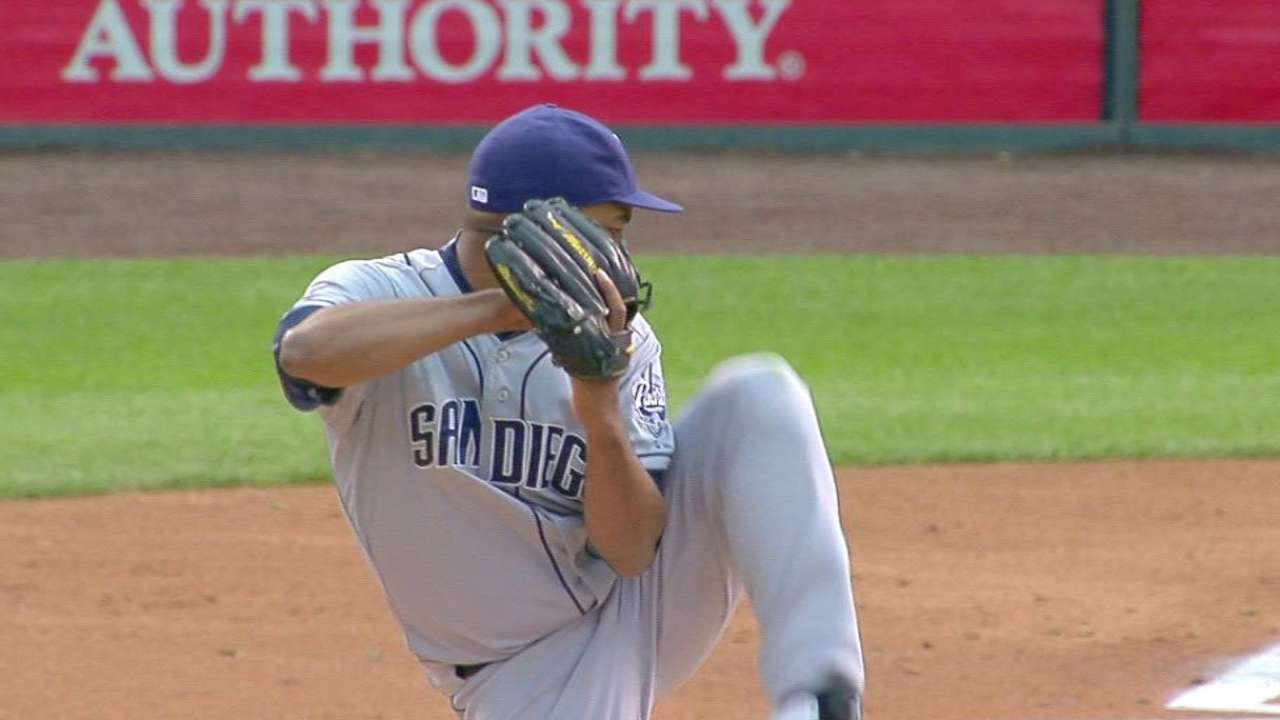 Despaigne pushed back in Padres' rotation